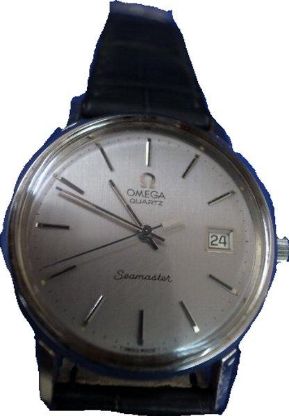 【送料・代引き手数料無料】腕時計 OMEGA オメガ オールド シーマスター ライトグレーダイヤルクオーツ USED 商品 【送料・代引き手数料無料】
