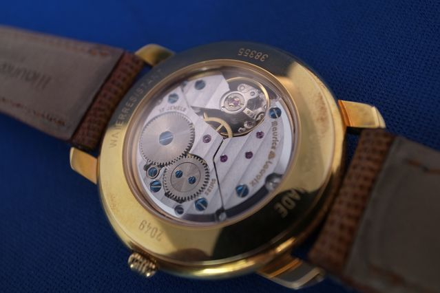 Watch Maurice & Lacroix O & H have hand wound skeleton deadstock 38355-4302