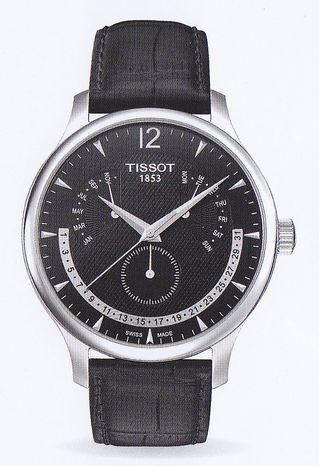 [tiso]TISSOT TRADITION Perpetual Calender(传统万年历)T063.637.16.057.00人