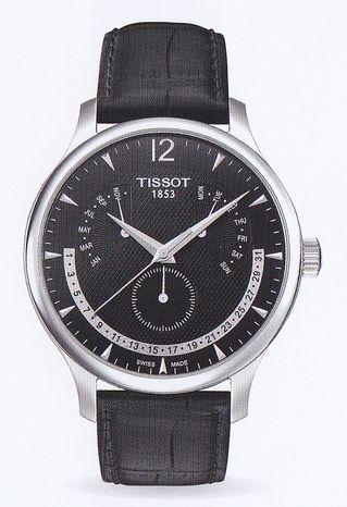 [Tissot]   TISSOT TRADITION Perpetual Calender (トラディションパーペチュアル calendar) T063.637.16.057.00 men's