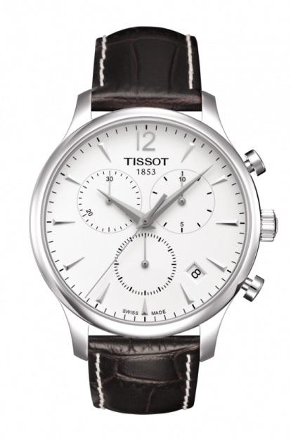 【送料・代引き手数料無料】腕時計 TISSOT-T-CLASSICクロノグラフ TRADITION T063.617.16.037.00T063.617.16.057.00 【送料・代引き手数料無料】