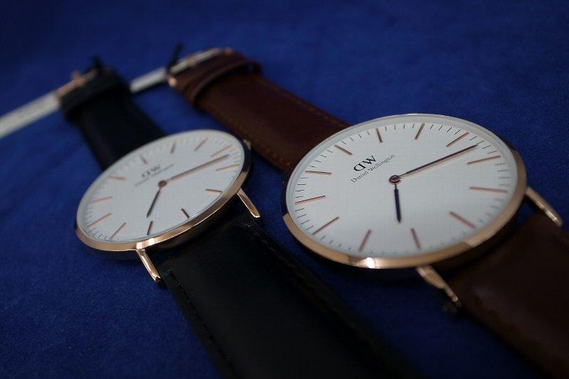 Daniel Wellington/丹尼爾惠靈頓古典36mm手錶0107DW