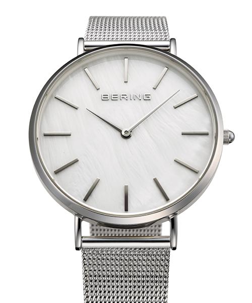【送料・代引き手数料無料】腕時計 BERING ベーリング2018Japan Limited Color 「MOP Light」 大人のペアウォッチ メンズ15336-004レディス15327-004【送料・代引き手数料無料】