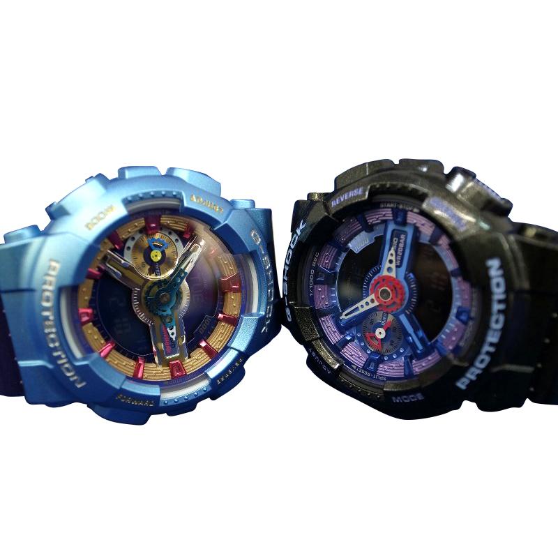 【送料・代引き手数料無料】CASIO/カシオ【G-SHOCK/Gショック】腕時計 CASIO/カシオSシリーズ GMA-S110HC-6A GMA-S110HC-1A 海外モデル 【送料・代引き手数料無料】