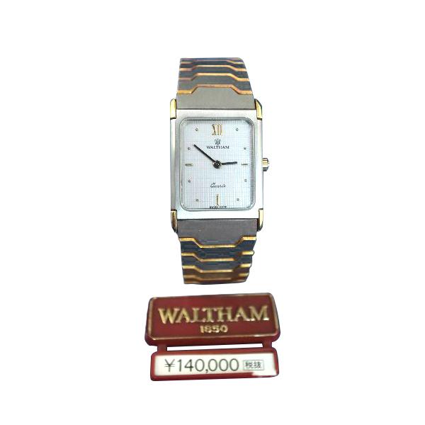 【送料・代引き手数料無料】腕時計 レディス デッドストックWALTHAM 【ウォルサム】L490667 クォーツ【送料・代引き手数料無料】