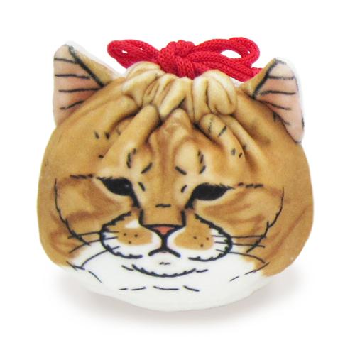 ラインスタンプから人気急上昇 至上 世にも不思議な猫世界 ふわふわもちもちの巾着です キャラクター 返品送料無料 猫 ネコ 巾着 プリンさん もちもち巾着2 ぐっぴーさん 小物入れ プレゼント ポーチ 春男