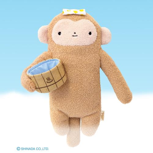 くもの上にすむ 未確認生物フモフモさん 温泉好きのフモフモさんです フモフモさん もちゃ いのの フモフモ サル 価格交渉OK送料無料 ギフ_包装 イノシシ Mサイズ 亥 日和 猿 ぬいぐるみ 癒し 抱き枕 プレゼント