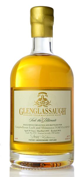 """グレング Lassa 39 years (Glenglassaugh 39yo) """"Seek the Ultimate for CampbelltounLoch & Shinanoya"""