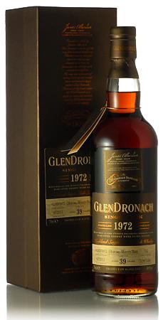 ◆◆グレンドロナック39年 [1972] #712オロロソシェリーバットLimited Release 2011※おかげさまで支店在庫とも完売となりました。