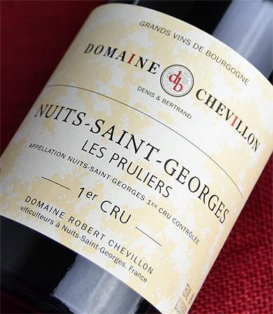 Robert Chevillon Nuits-Saint-Georges 1 er Les Plyler [2011]