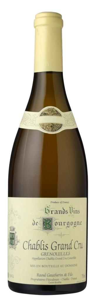 直輸入ワイン ■ドメーヌ 新発売 ラウル ゴートラン シャブリ ※こちらは出荷まで3営業日以上 2017 2020モデル 特級 お時間を頂戴致します グルヌイユ