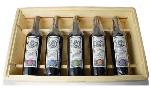 【送料無料】◆ボンド2011年ヴィンテージ 木箱付き5本セット