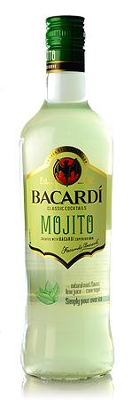 Classic cocktails Bacardi Mojito