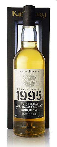 【S12】キングスバリー シルバー ブレアアソール[1995] 18年 シェリーバット