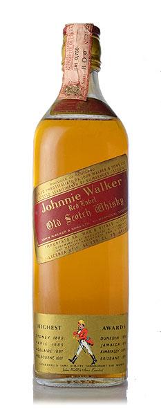 【オールドボトル】ジョニーウォーカー レッド 1980年代流通品