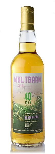 【S12】モルトバーングレンエルギン [1975] 40年 バーボンカスク