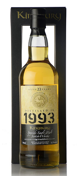 【S12】キングスバリー ゴールド グレンキース [1993] 23年