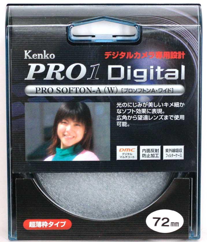 メール便送料無料 新品 KENKO ケンコー 国内正規品 72mm W A 40%OFFの激安セール PRO1D プロソフトン