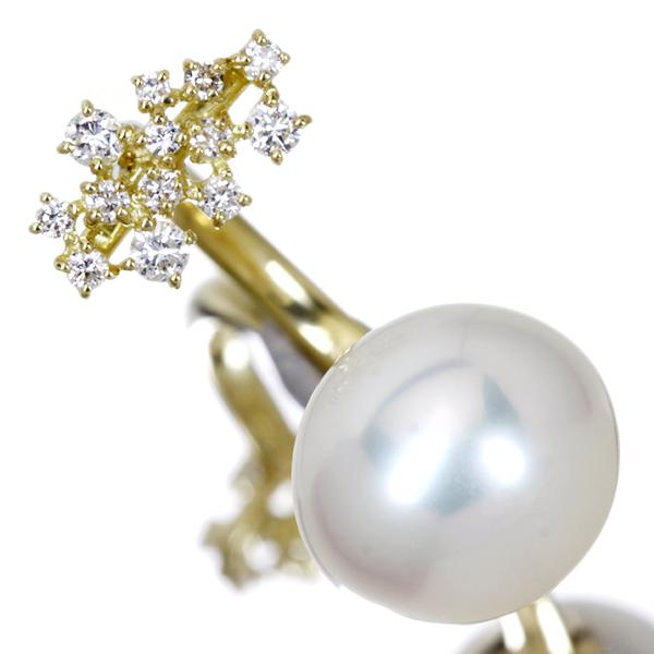 ★決算特価商品★ K18 12.0mm K18 白蝶真珠リング 0.32ct 0.32ct ダイヤモンド ダイヤモンド, マイセン:7251d96a --- spotlightonasia.com