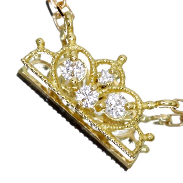 K18 0.04ct ダイヤモンド ネックレス