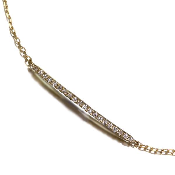 K10 0.05ct ダイヤモンド ブレスレット
