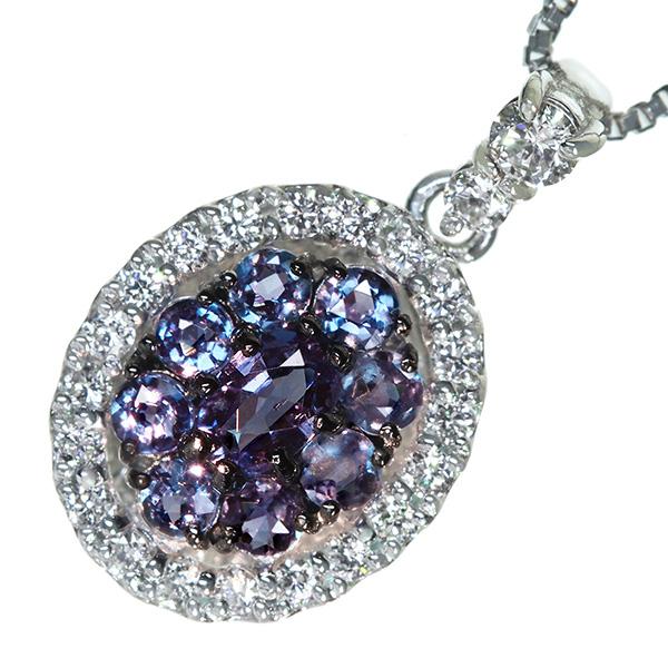 【超歓迎】 PT900 0.11ct/850 アレキサンドライト PT900/850 0.21ct ダイヤモンド 0.21ct 0.11ct ネックレス, Re-LSHOP 〔リエルショップ〕:3997a751 --- bellsrenovation.com