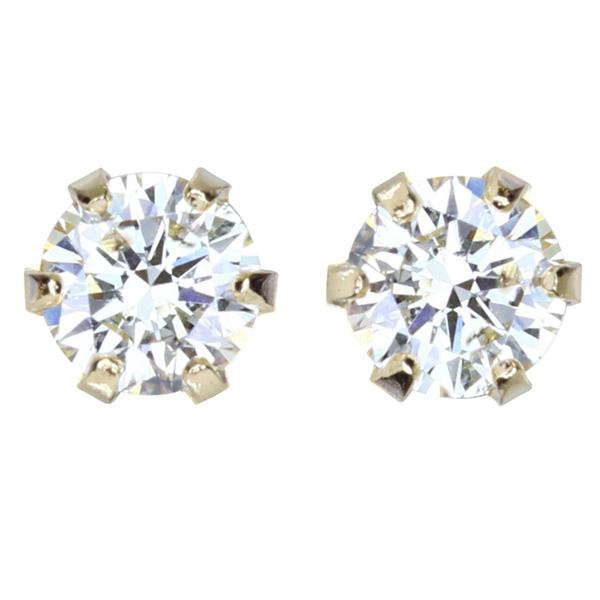 【一点限り即納】K18 ダイヤモンド 0.05ct/0.05ct ピアス【再販不可】