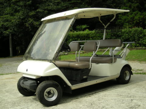 ヤマハゴルフカートターフライナー G17A(JR9・JT1)電磁誘導式エンジン車【中古】【代引き不可】