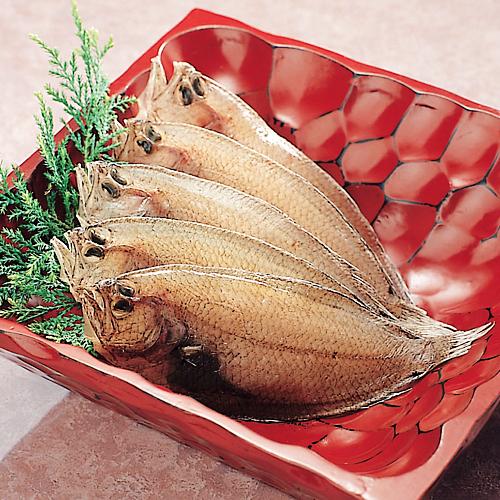 春の新作続々 使い勝手の良い 030-網かれい一夜干し 5~8枚入り香り高く上品な旨み