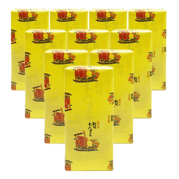 再販ご予約限定送料無料 ちんすこう本家 ご予約品 新垣菓子店 の作る定番プレーン味10袋タイプです 10袋入り×10箱セット 新垣ちんすこう 全国送料無料