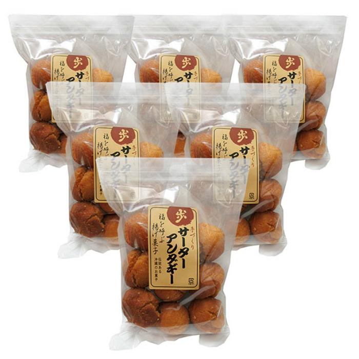 サーターアンダギーは昔から沖縄でお菓子として親しまれています。新入荷 歩のサーターアンダギー(9個入り×6袋)全国送料無料
