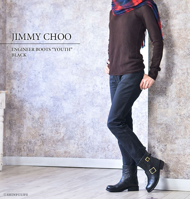 056ede7eb32 Shinfulife  Jimmy Choo Engineer Boots youth boots JIMMY CHOO with ...