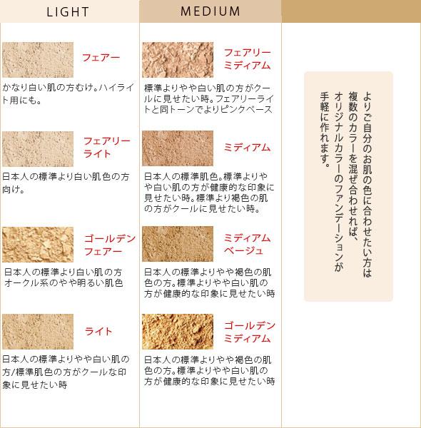 World No.1 mineral Foundation. Bare minerals /Bare Minerals / ミネラルファンデ / powder Foundation-regular size and only mineral / リリーロロ / fairy light / light / medium / medium beige
