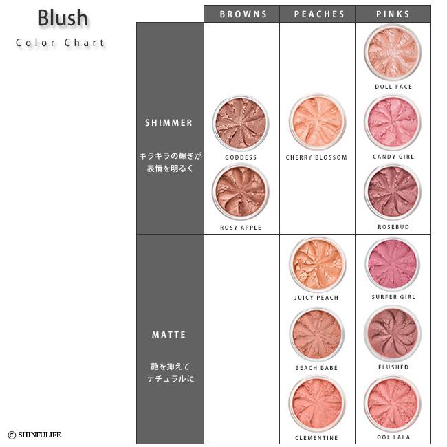 欧洲 1 号矿产基础 [リリーロロ] 百合花 lolo ミネラルブ 拉什和柚木和脸的颜色。ミネラルファンデ 被击败的裸矿物嗡嗡声