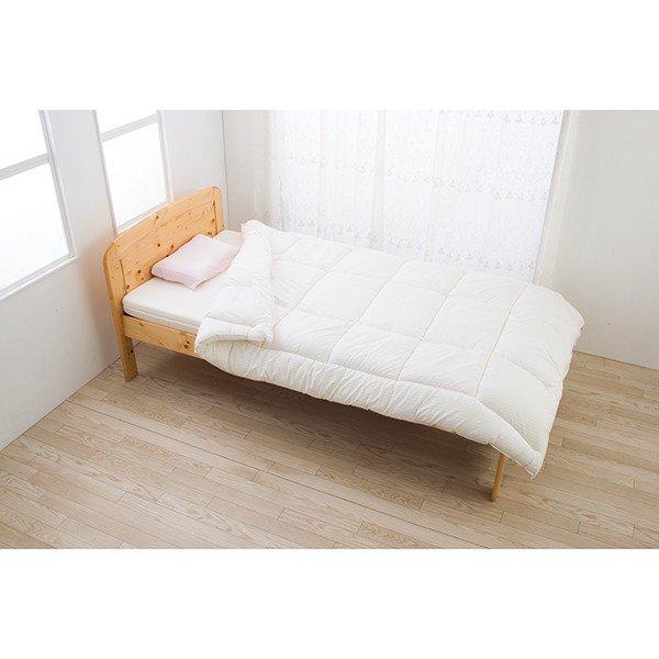 正規品 東京西川 組み合わせ色々 オールシーズン選べる寝具 スリープコンフィ 合繊肌掛け布団 150×210cm シングルサイズ Light 0.8kg
