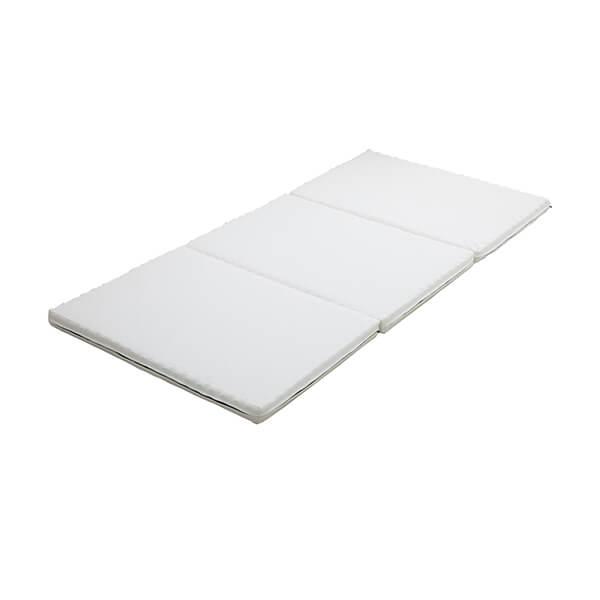 正規品 グースリーマットレス 高反発 マットレス 三つ折り 敷き布団 敷布団 腰痛対策 シングルサイズ 97 × 201 × 6cm