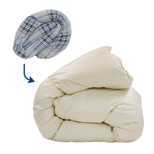 ふとん3点丸洗い 掛け布団 敷き布団 クリーニング ふとん丸洗い