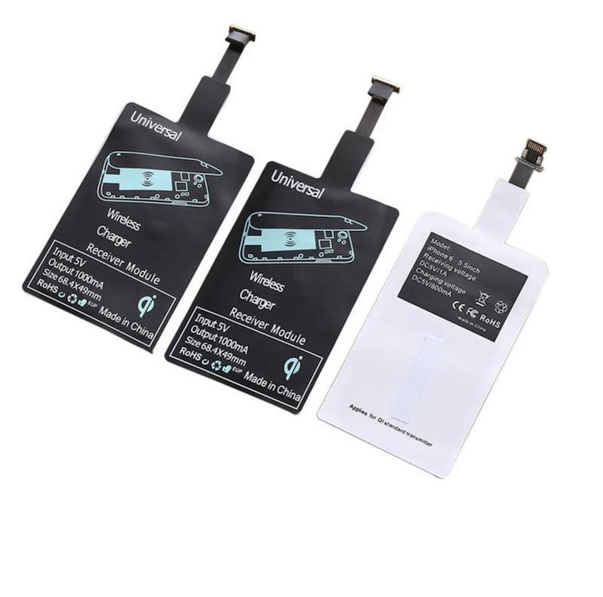 送料無料 ワイヤレス 全国どこでも送料無料 充電 レシーバー Qi 人気上昇中 規格 無接点 Type-C Micro アダプタ USB モバイル バッテリー Tyope-C 対応 ワイヤレス充電レシーバー iPhone