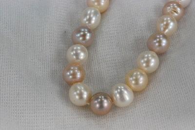 淡水 真珠  11mm  ポテト  ネックレス  マルチ      532P15May16       ポイント5倍