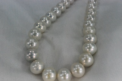 淡水 真珠  13-15mm  ポテト  ネックレス  ホワイト     532P15May16        ポイント5倍