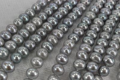 淡水真珠の6.5mmポテト グレーカラーで傷気は少なく照りの良い丸目の形状です rdカラーの引き輪アジャスターで組みます 淡水 真珠 6.5mm 532P15May16 グレー ポイント5倍 ポテト 送料無料/新品 40cm ネックレス 売れ筋ランキング
