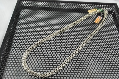 カレン族 SV ネックレス ハンドメイド 6mm  45cm  #6048     532P15May16       ポイント5倍