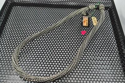 カレン族 SV ネックレス ハンドメイド 7mm  45cm  #6545     532P15May16       ポイント5倍