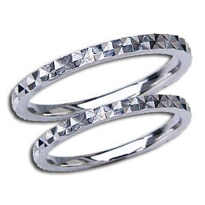 ペアリング 結婚指輪 プレゼント 記念日 シンプル デザインカットリング マリッジリング 地金リング シンプル 指輪 PT900 プラチナ