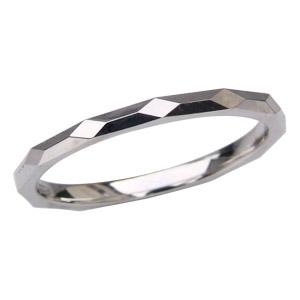 婚約指輪 プラチナ デザインカットリング シンプル 男性用指輪 マリッジリング PT900 メンズ地金リング 送料無料 バレンタイン