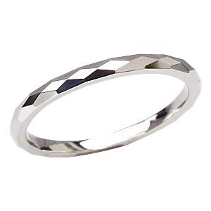 マリッジリング PT900 メンズ 地金リング プラチナ デザインカットリング 結婚指輪 シンプル 指輪 婚約指輪 送料無料 バレンタイン