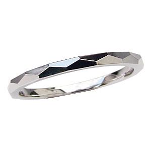 PT900 プラチナ 結婚指輪 シンプル デザインカットリング指輪 メンズ 地金リング マリッジリング 送料無料 バレンタイン