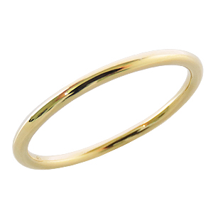 リング 指輪 ピンキーリング 華奢リング ベビーリング K18 ゴールド 18K 18金 シンプルなリング 重ね着け用リング 自分買い プレゼント ギフト カジュアル