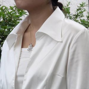 入学式 卒業式 真珠 パール ブローチ 南洋白蝶真珠 ペンダントトップ ヘッド ダイヤモンド 10mm ピンクホワイト系 K18vO0nmNP8yw