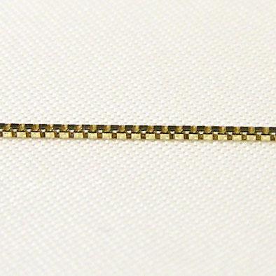 母の日 2019 チェーン K18ゴールド ライトベネチアン0.7mmチェーン 50cm スライド式
